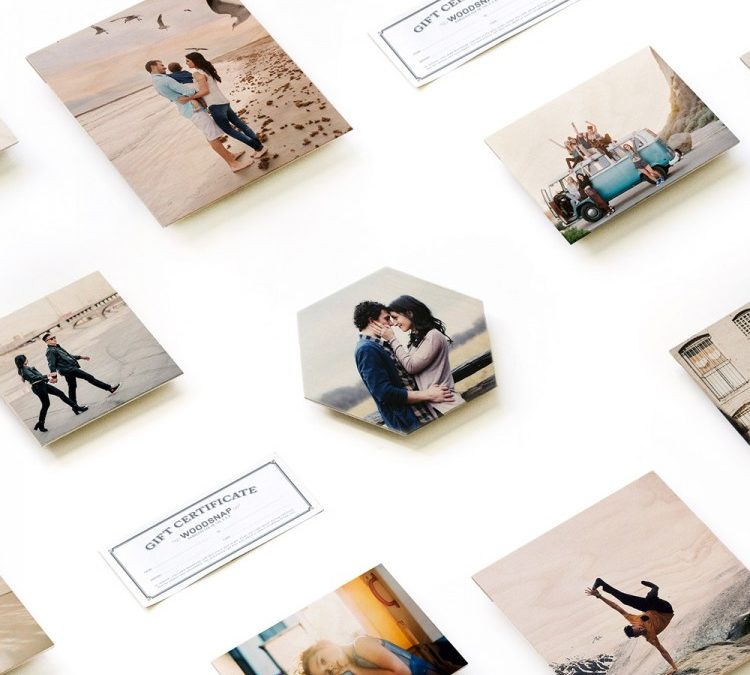 Prints on Wood Gift Cards