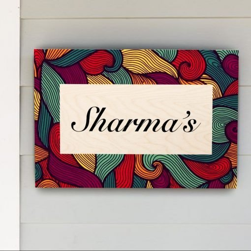 Personalised Wooden Name Plate_13
