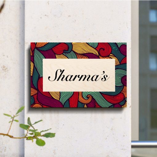 Personalised Wooden Name Plate_14