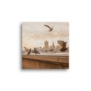 6×6 Printed Wooden Photo Plaque