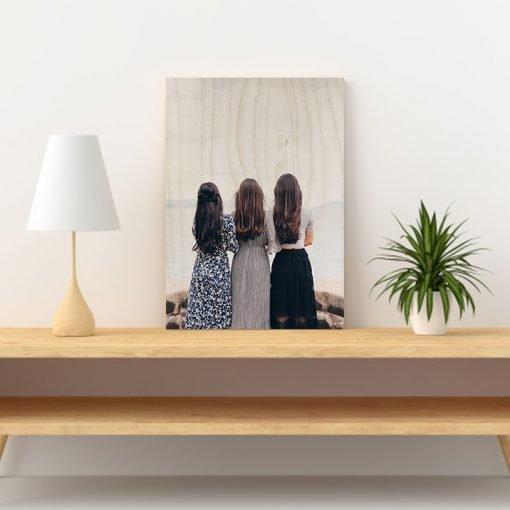 Custom Wood print gift