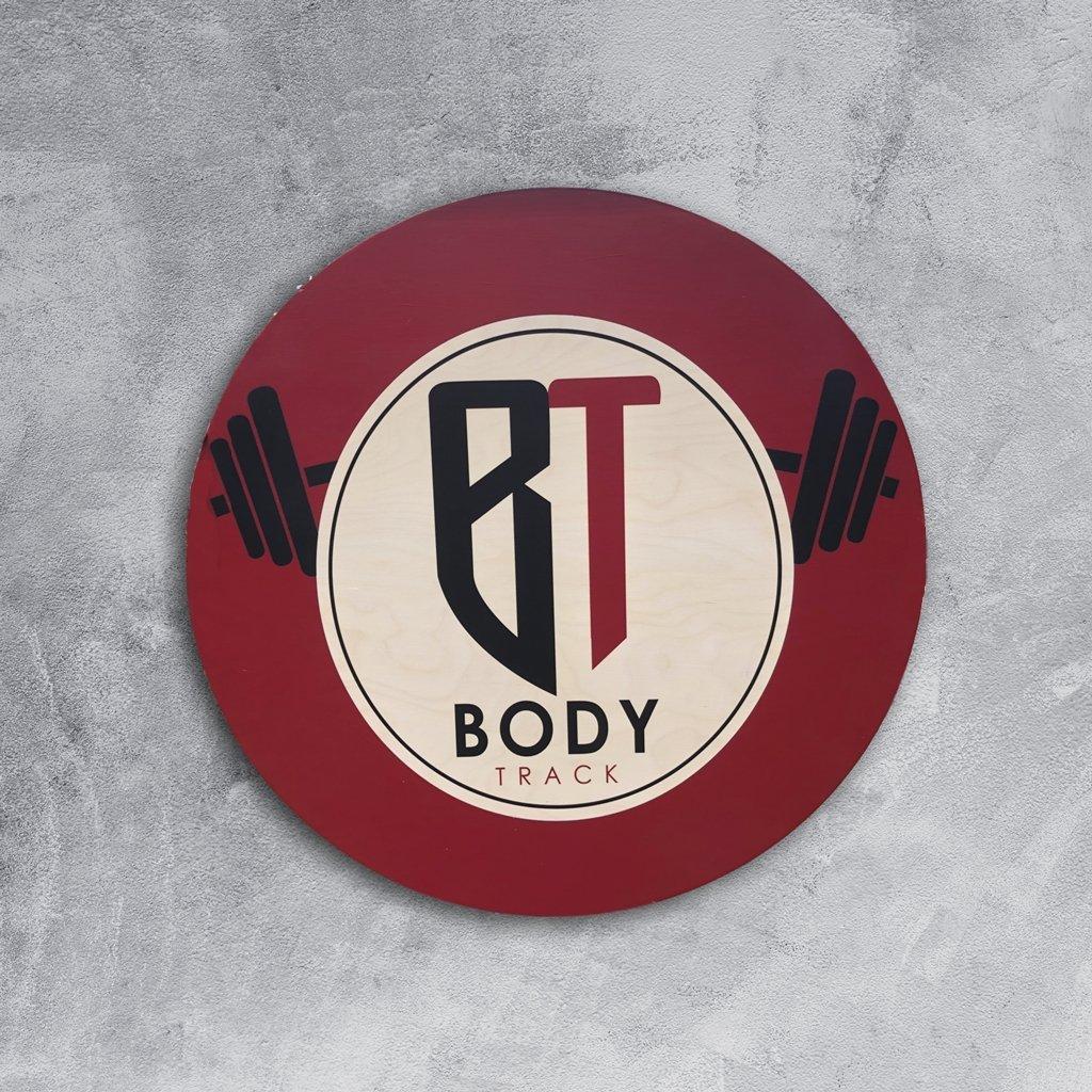 Custom Gym Body Track logo