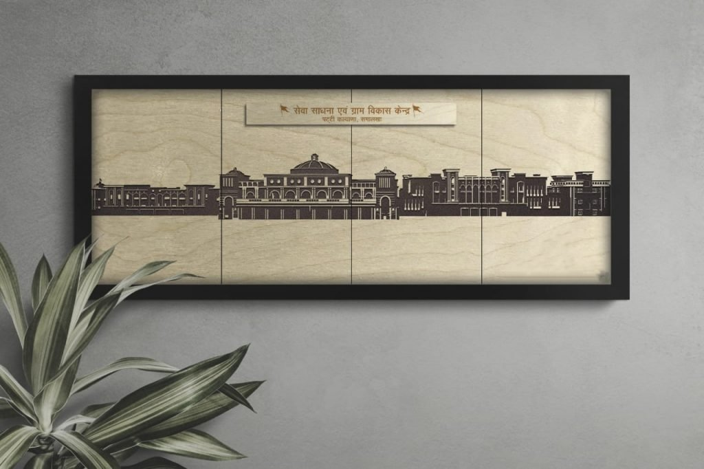 Nipman foundation customized wooden diaries