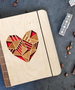 Heart diary Gift
