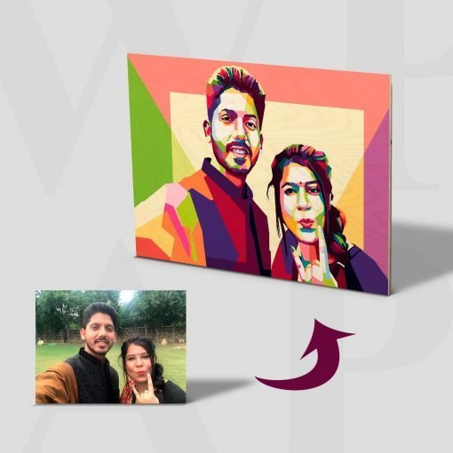 Poly Art Personalised Gift