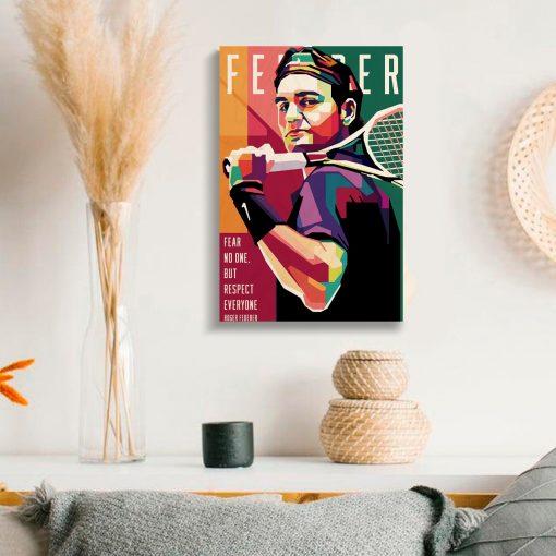 Roger Federer Print_2
