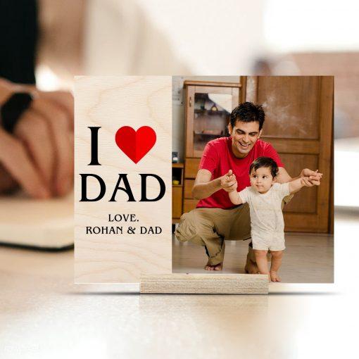 I love dad- print
