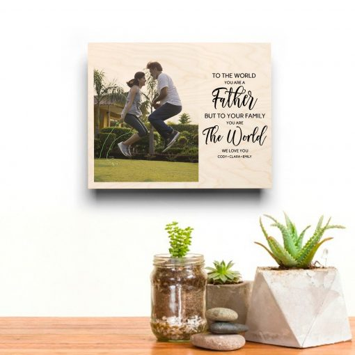 father custom print