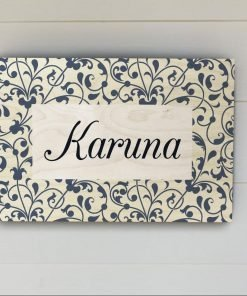 Personalised Name Plate-4