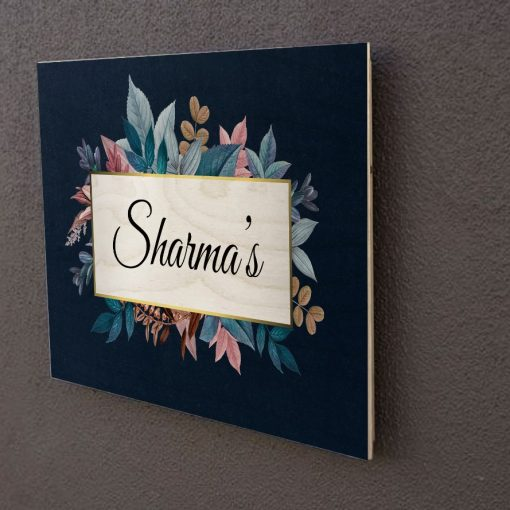 Personalised Wooden Name Plate-3