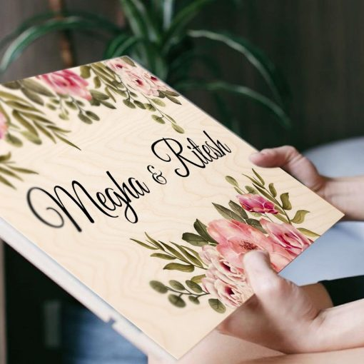 Personalised Wooden Name Plate