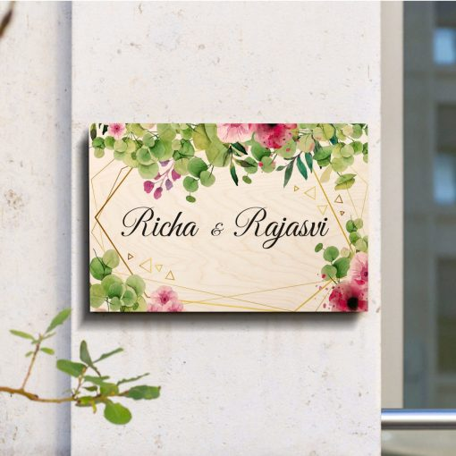 Family Name Plate