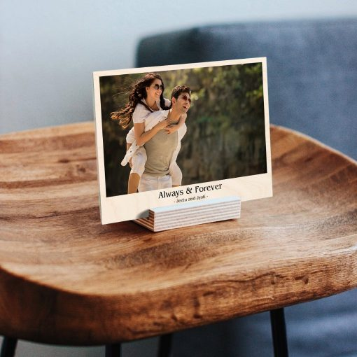 Personalised Wooden print stand