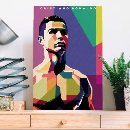 CR7 Wood Print-1