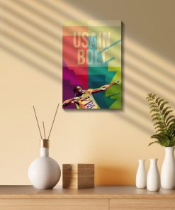 Usain Bolt Wood Print-1