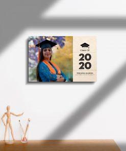 Graduation Wood Print