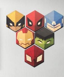 Super Hero Fridge Magnets