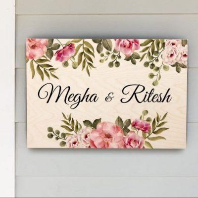 Custom Nameplate by Chitrachaya